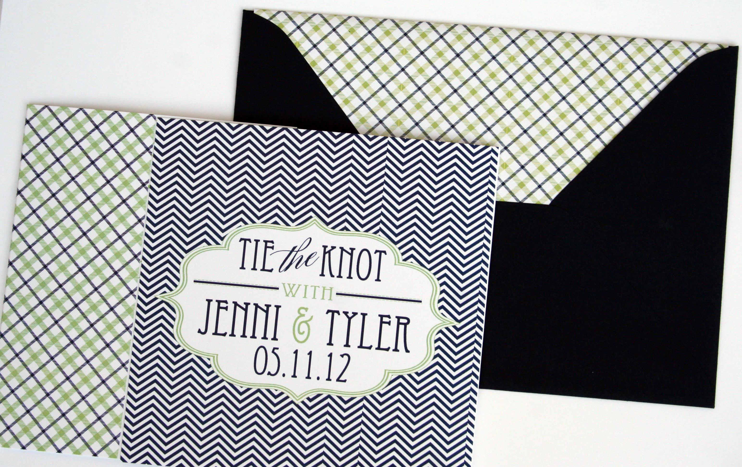 Hampton Tri-Fold by Jenn Sprinkle Paper