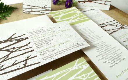 Plantable Invitations