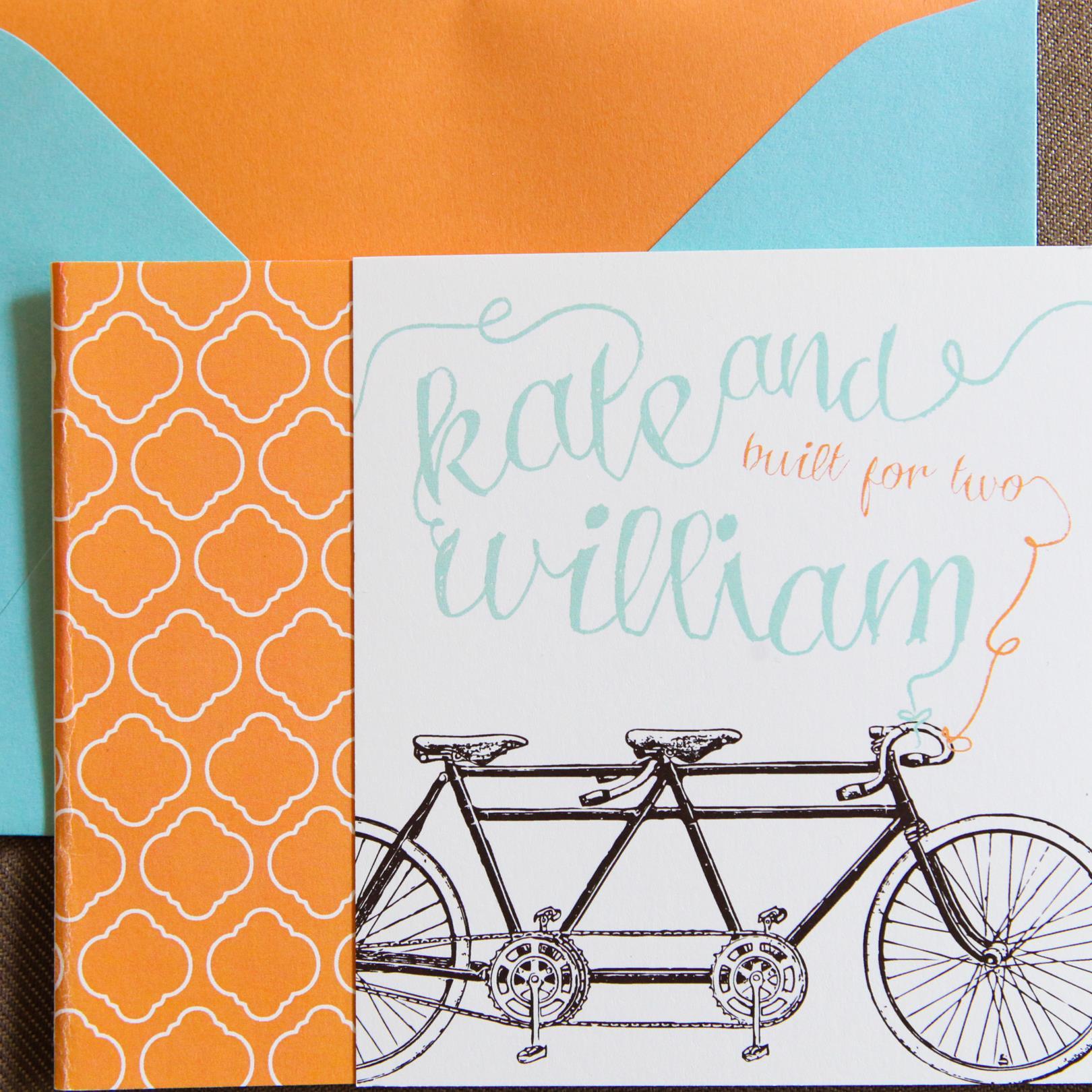 Tandem Tri-Fold by Jenn Sprinkle Paper
