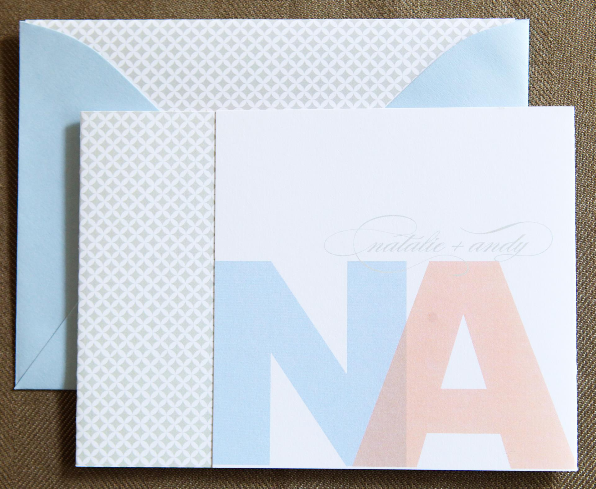 Bright Tri-Fold by Jenn Sprinkle Paper