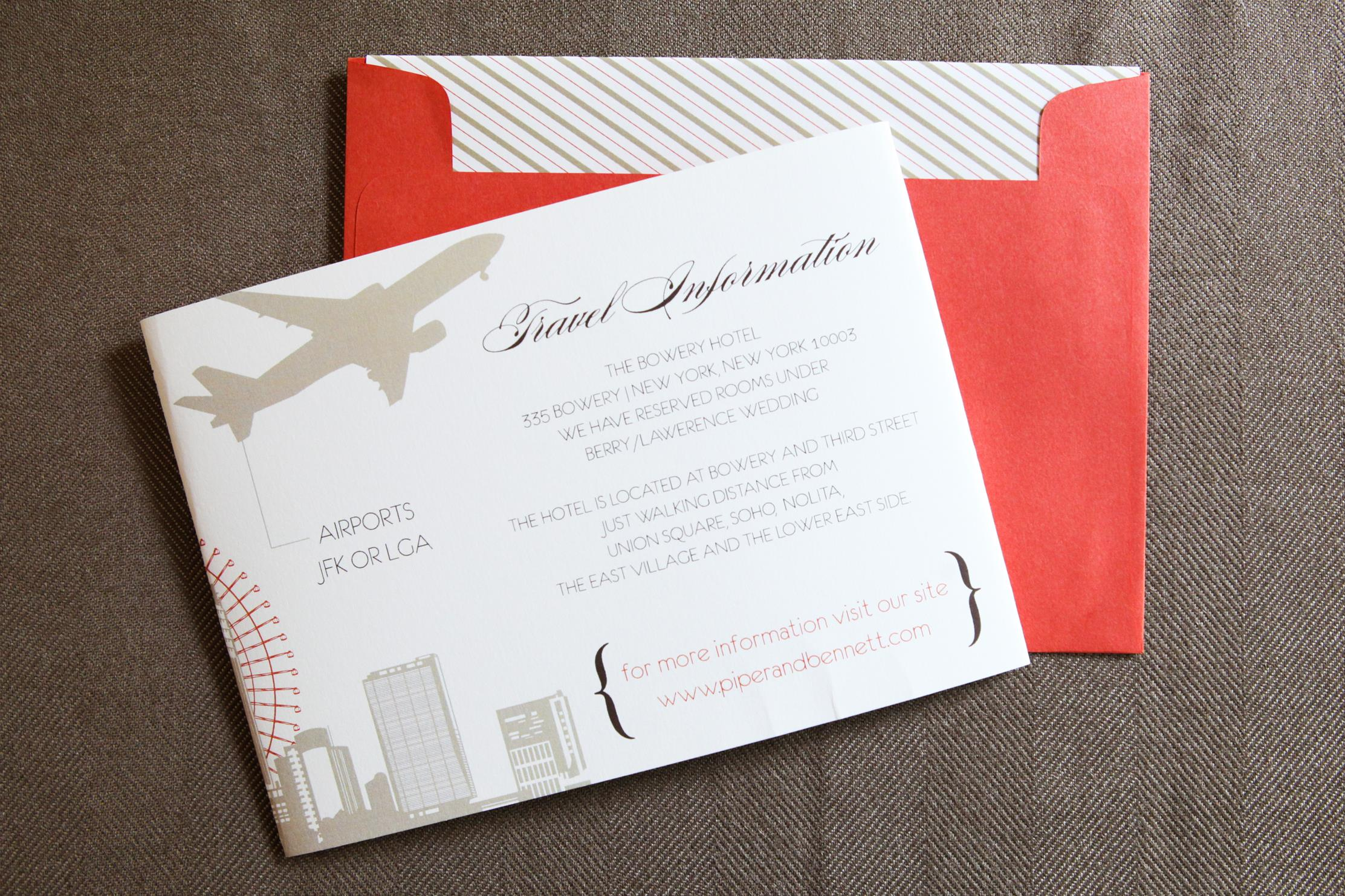 In the City Tri-Fold by Jenn Sprinkle Paper • Staccato