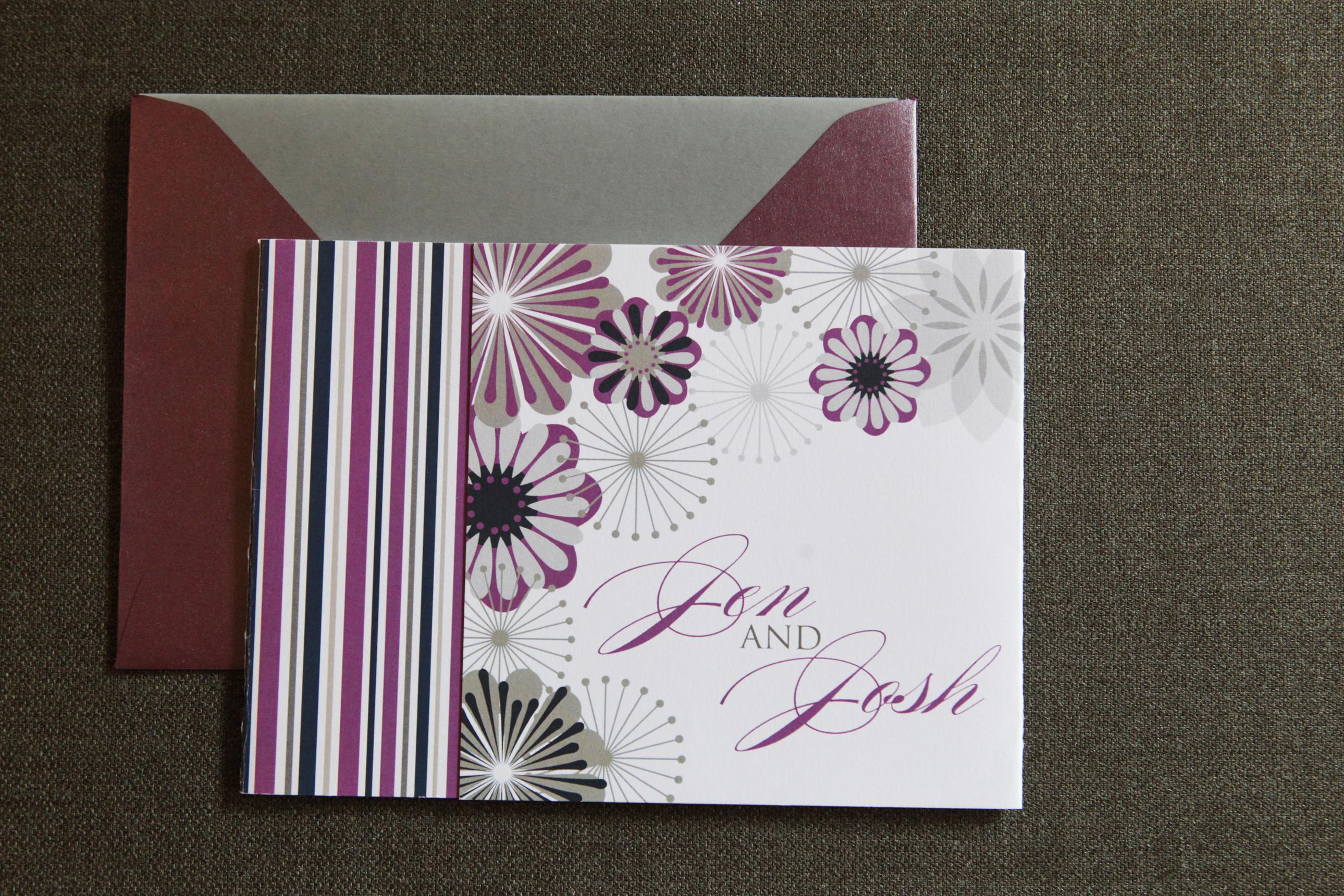 Pinwheel Tri-Fold by Jenn Sprinkle Paper
