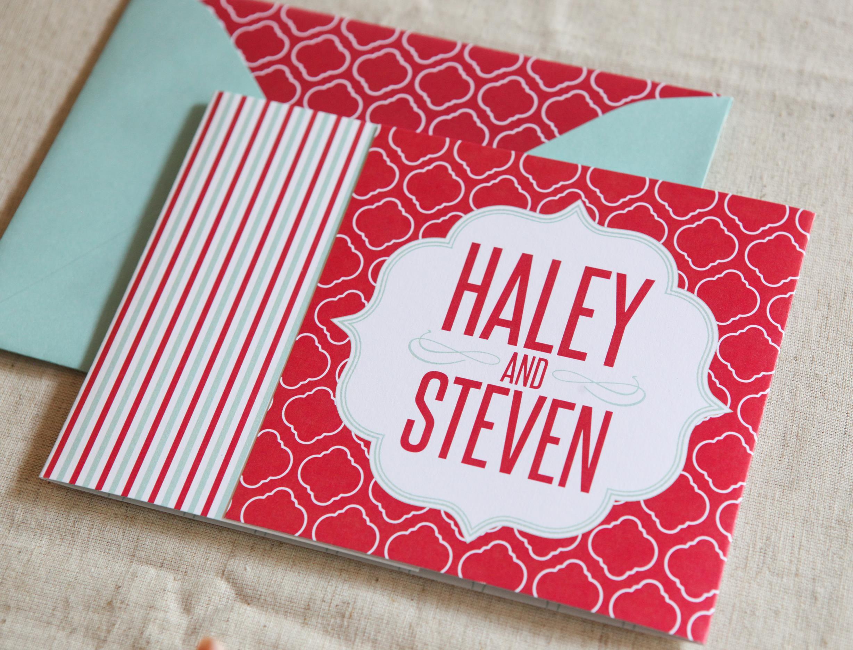 Frames Tri-Fold by Jenn Sprinkle Paper