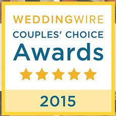 Staccato is Wedding Wire Rated, and has won the Bride's Choice Award 4 times!