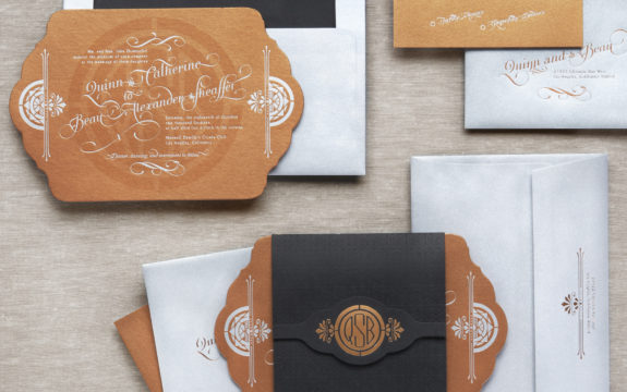 Empire Wedding Invitations