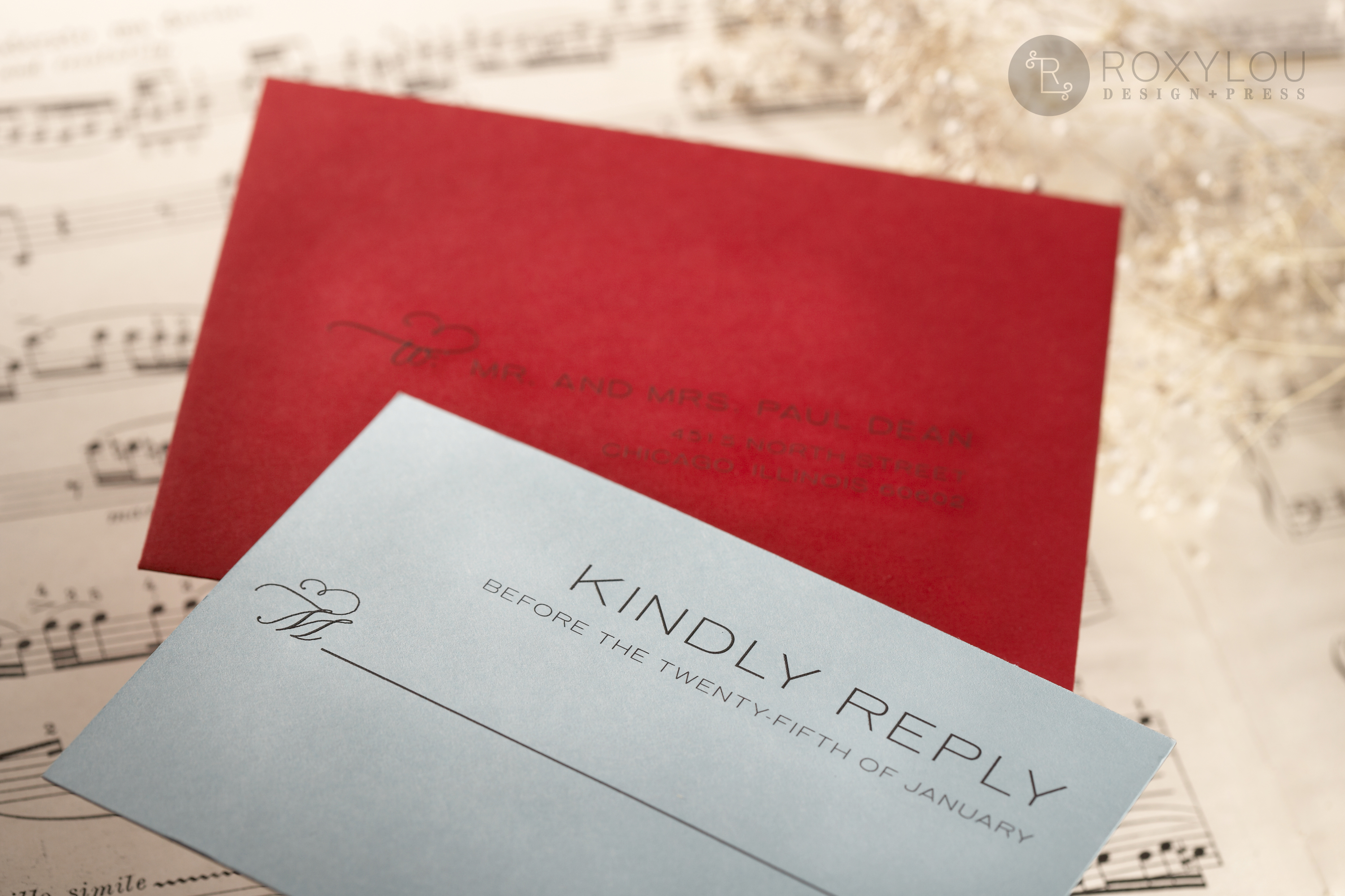 Gypsy Wedding Invitations • Staccato