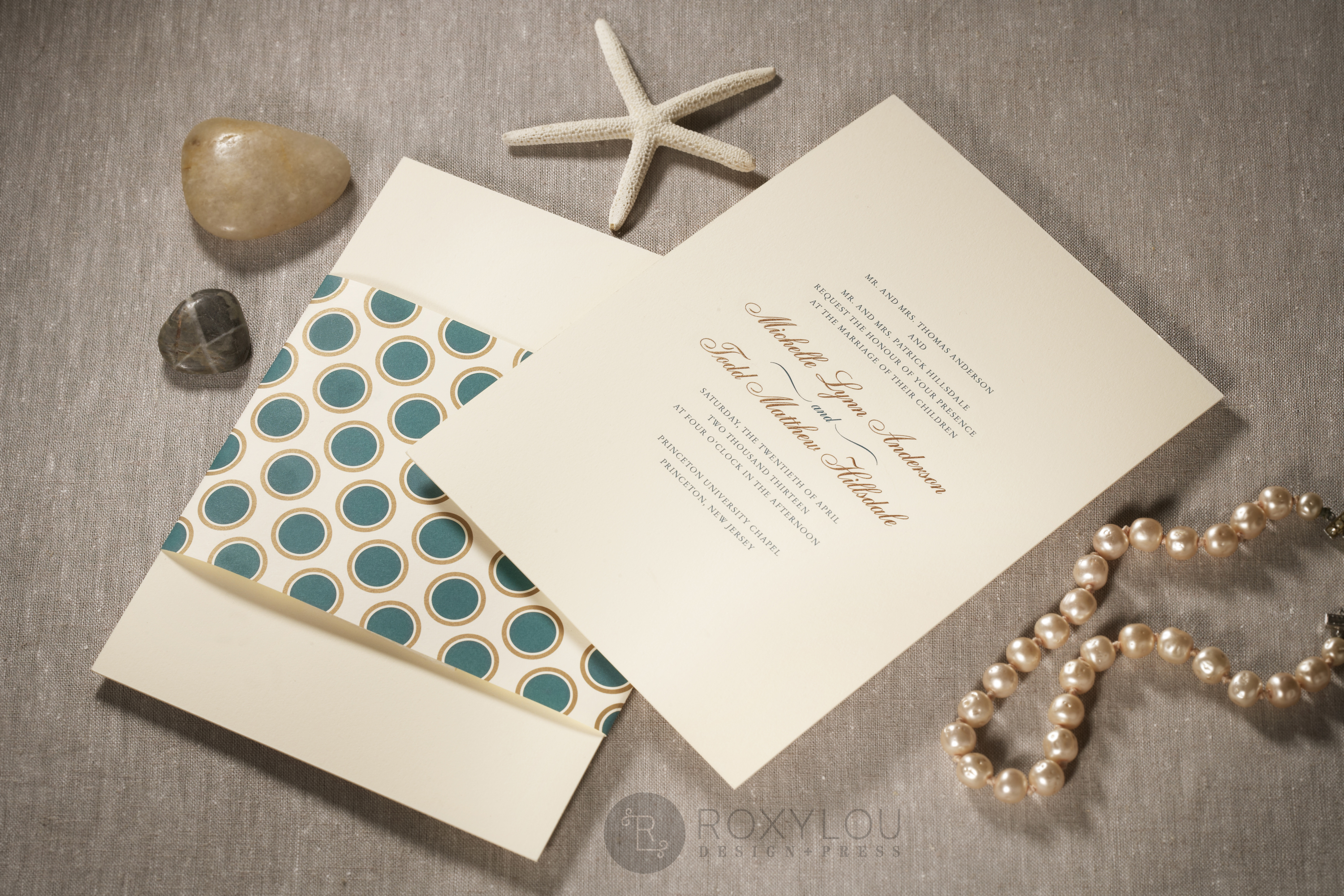 Hampton Wedding Invitations • Staccato
