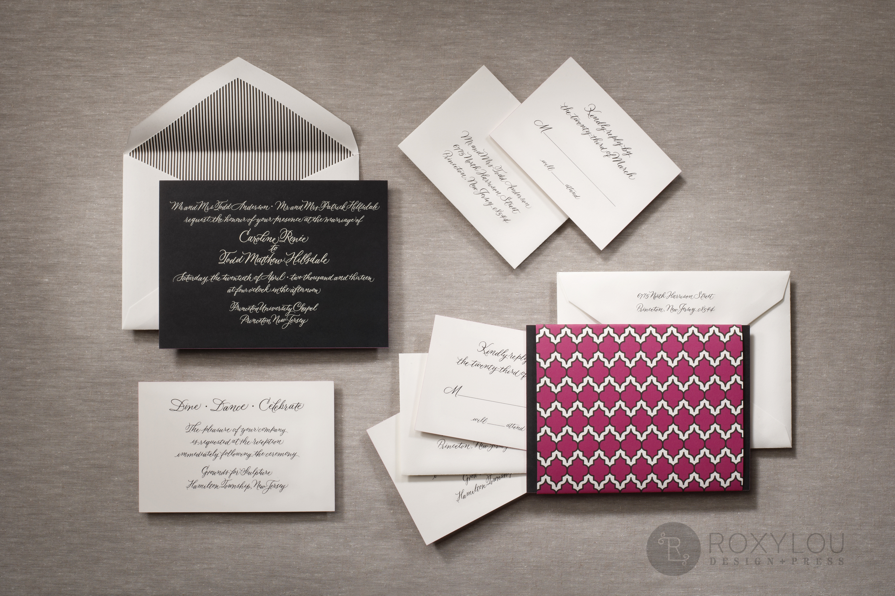 Moxie  Wedding Invitations