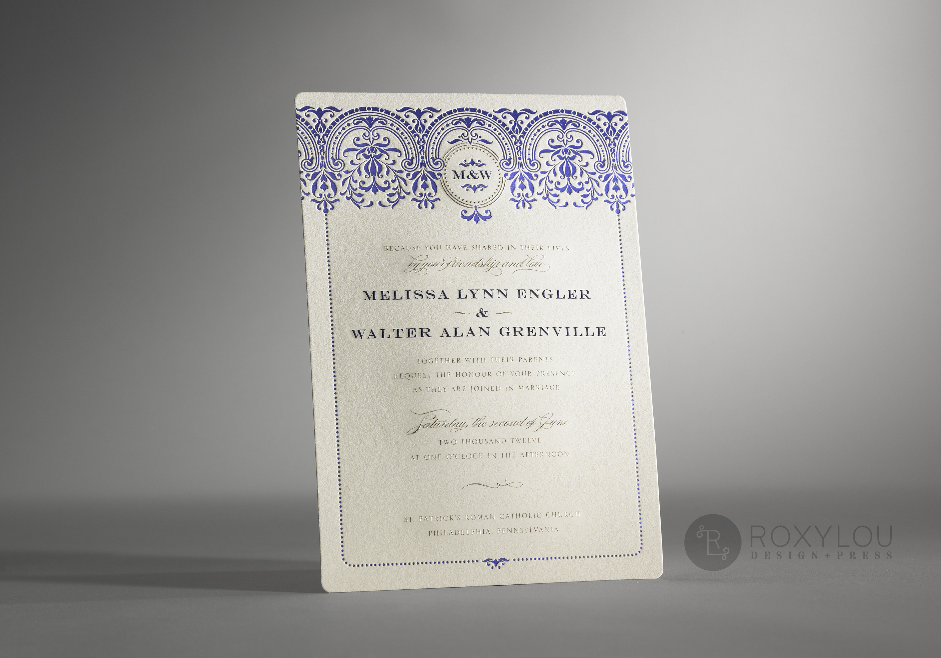 Baroque Wedding Invitations