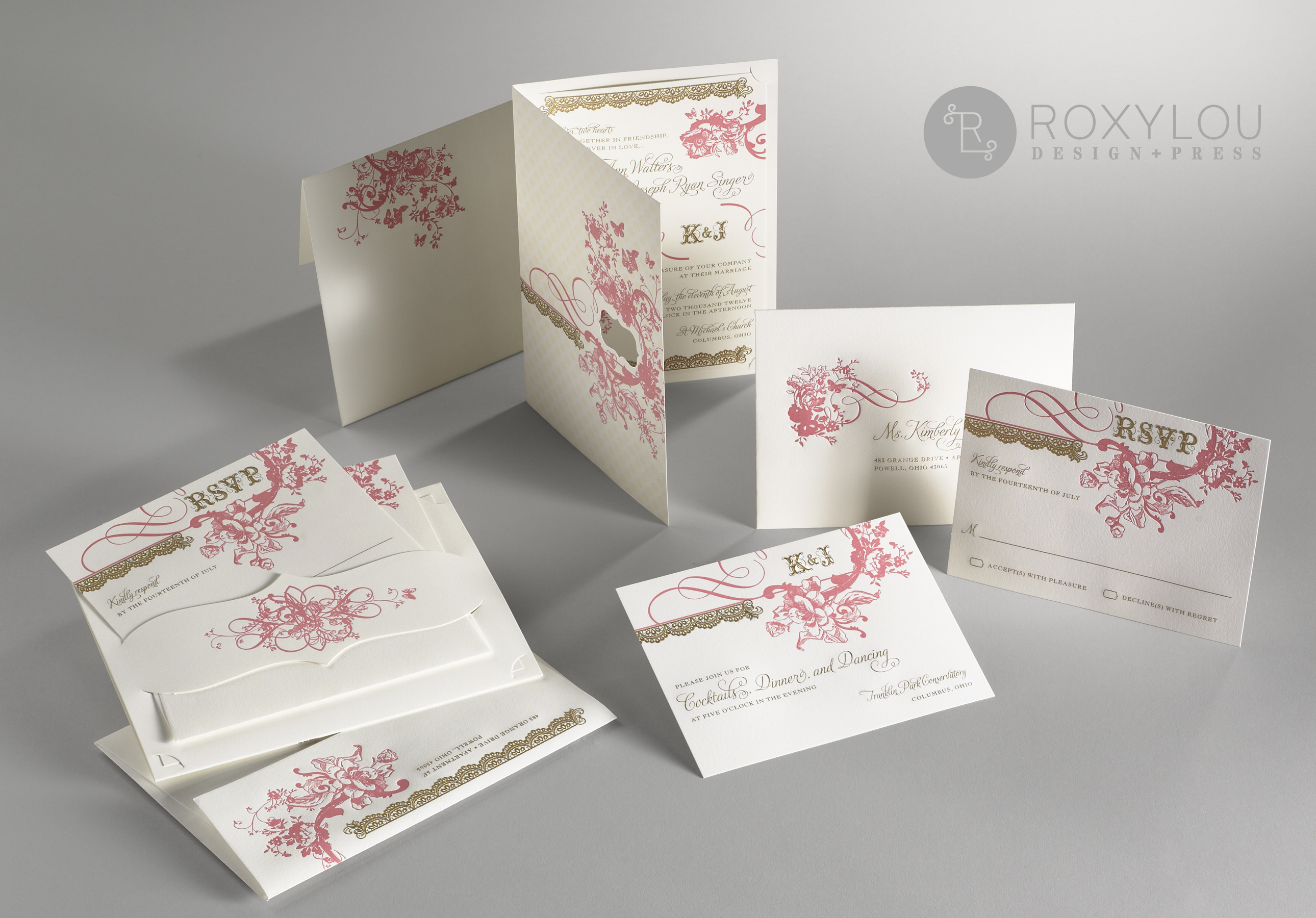 Enchanted Wedding Invitation