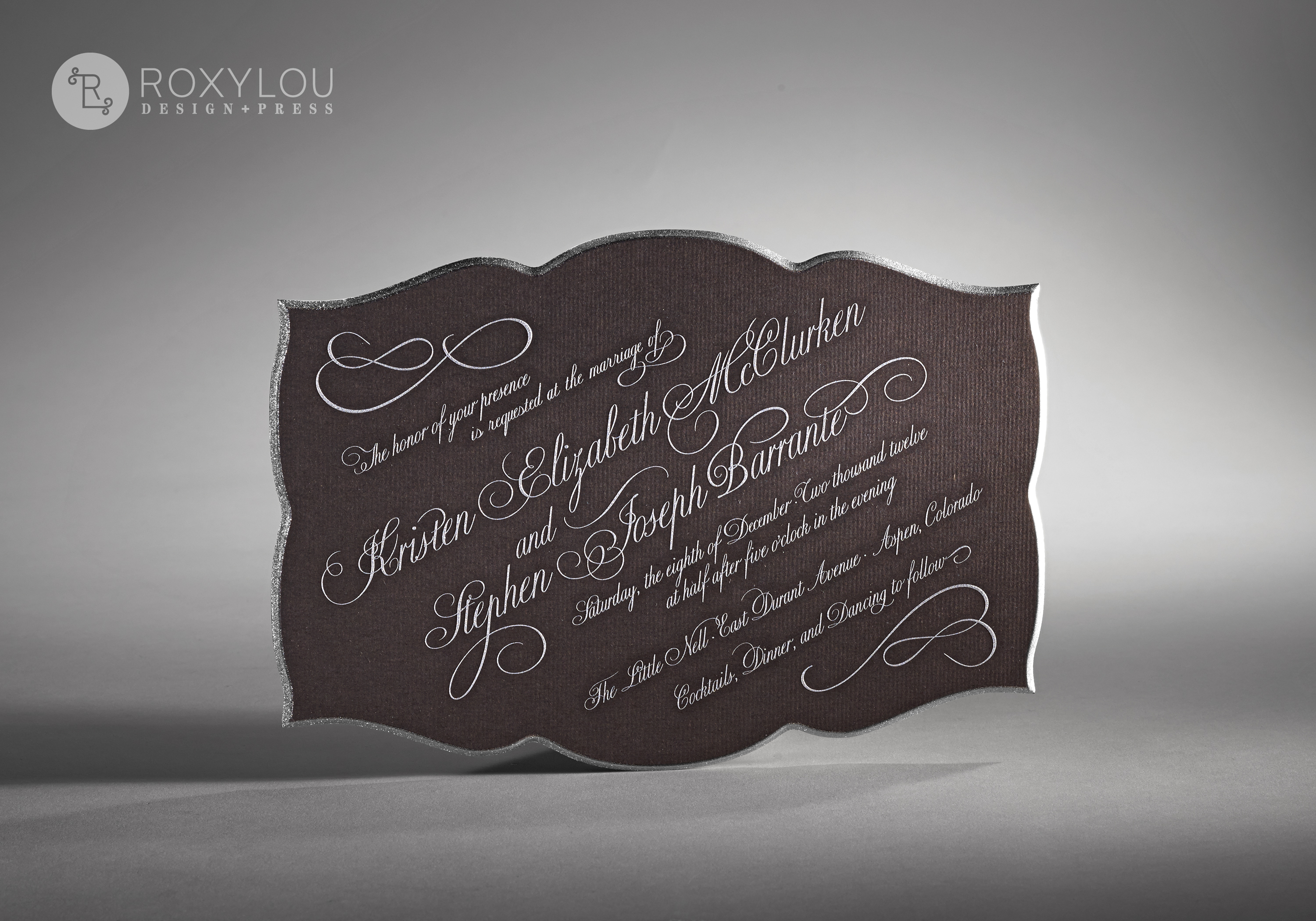 Flourish Wedding Invitation