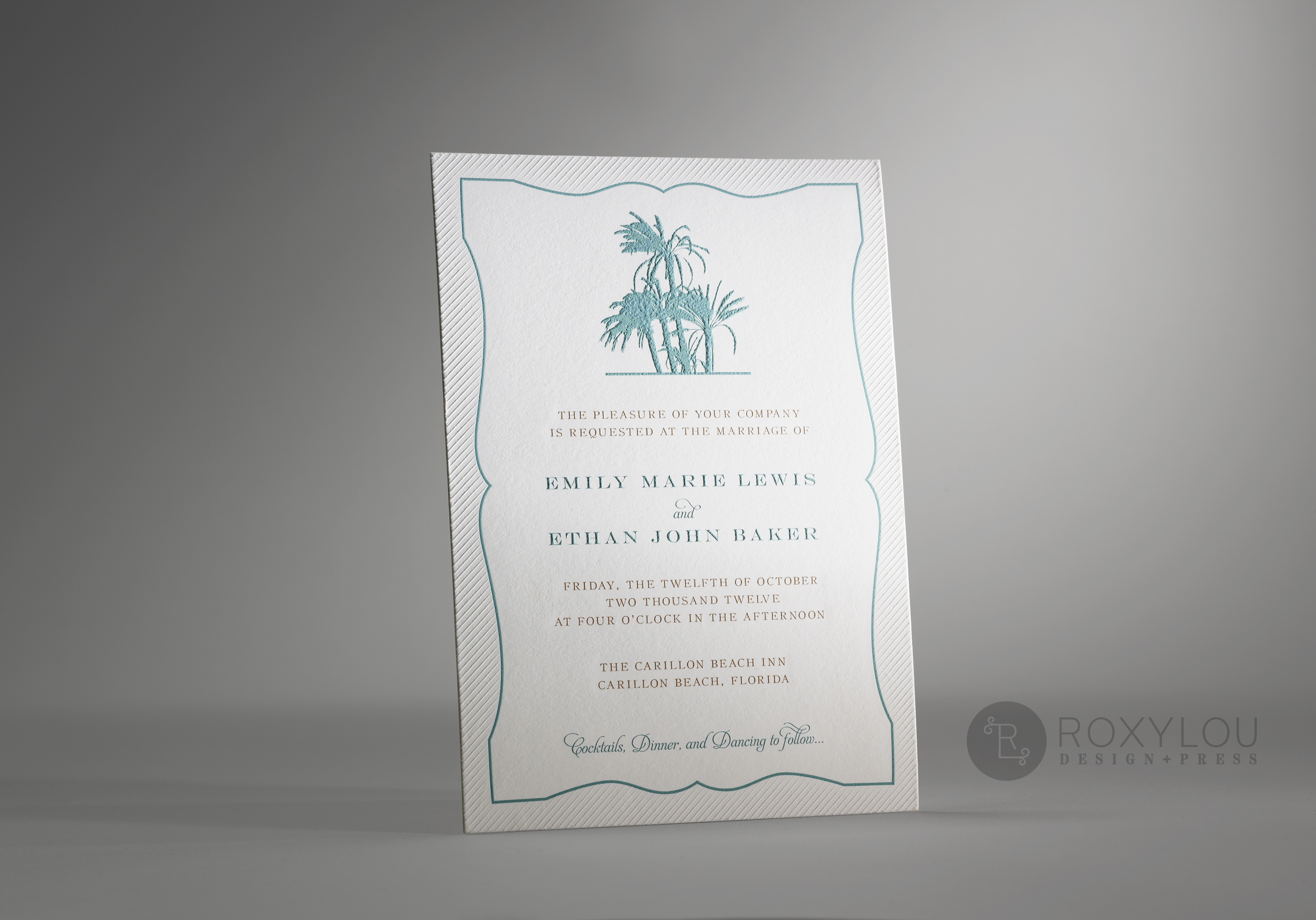 Palms  Wedding Invitations