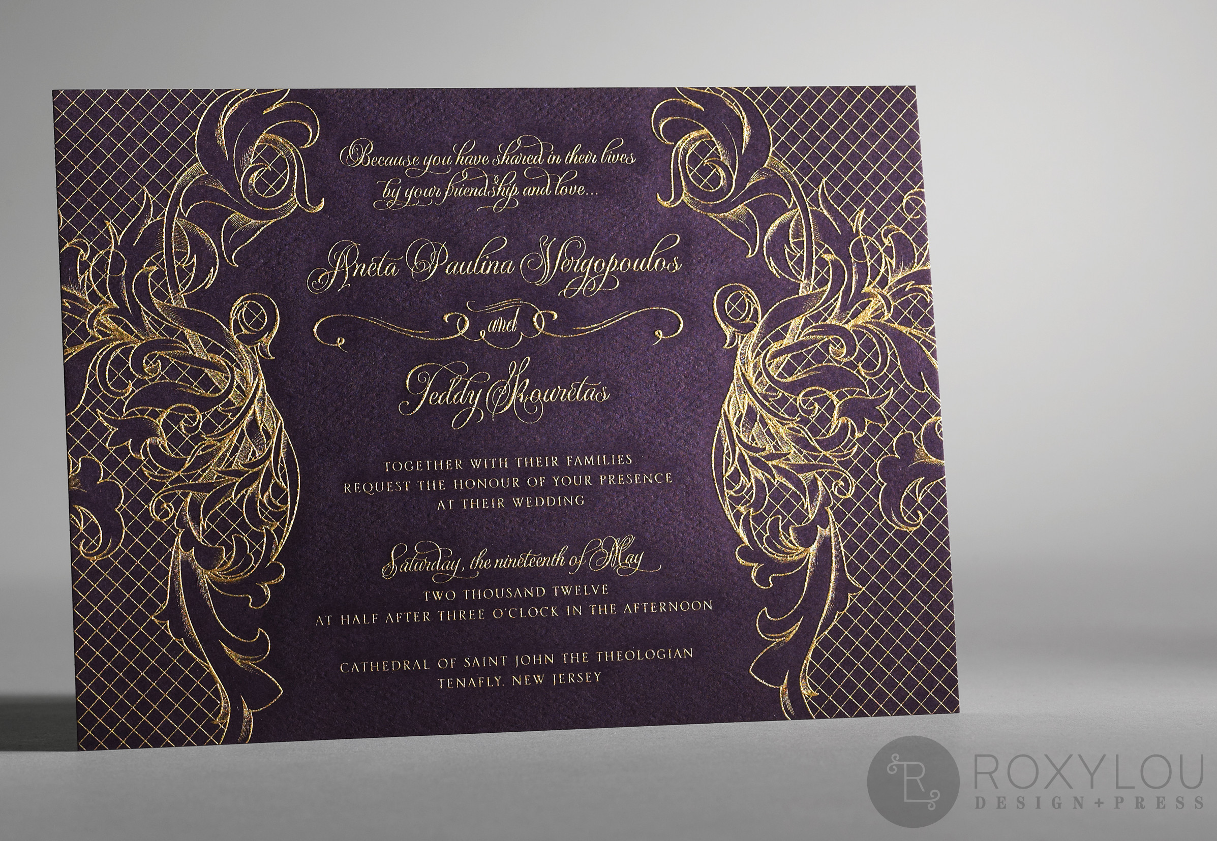 Regalia  Wedding Invitations