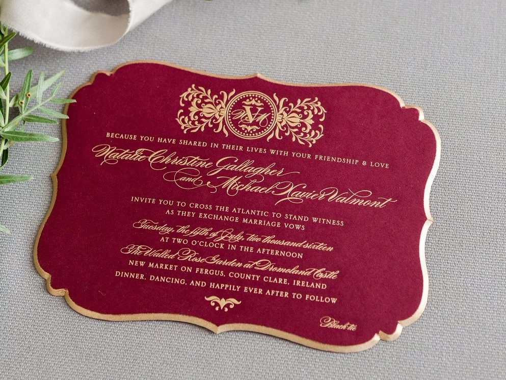 Natalie & Michael's Wedding Invitation Suite