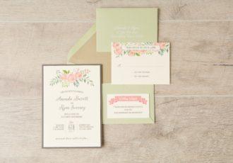 Amanda & Ryan's Wedding Invitations