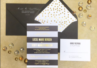 Bouchon Wedding Invitation