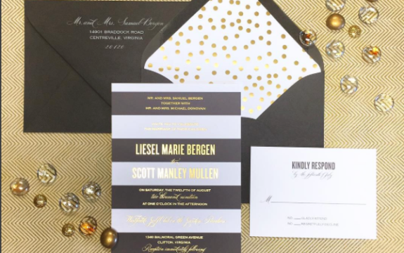 Bouchon Wedding Invitation