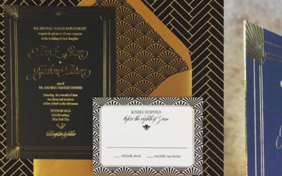Pavie Wedding Invitation