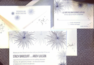 Vivacity Wedding Invitation