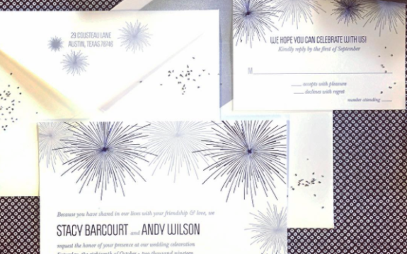 Vivacity Wedding Invitation