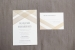 Vosage Foil & Flat Printed Wedding Invitation