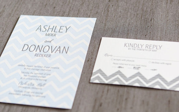 Shafer Wedding Invitation