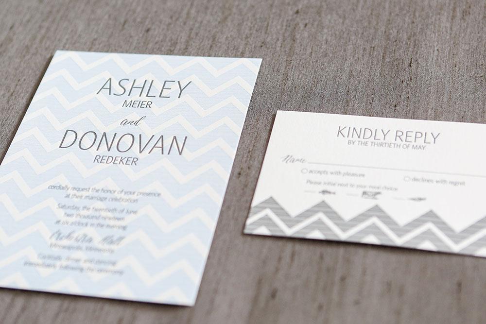 Shafer Wedding Invitation