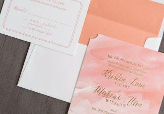 Reuilly Wedding Invitation