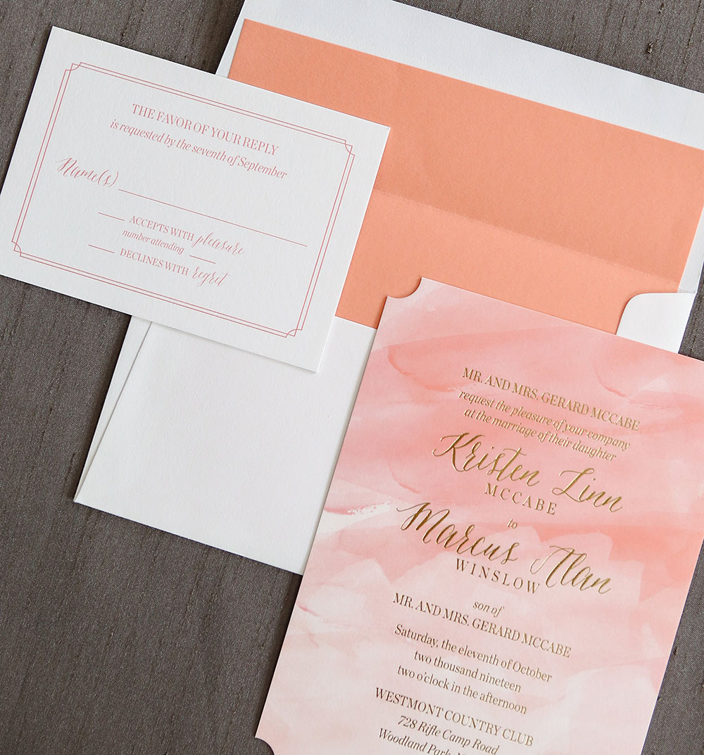 Reuilly Wedding Invitation