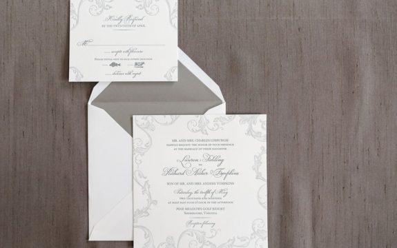Marigot Wedding Invitation