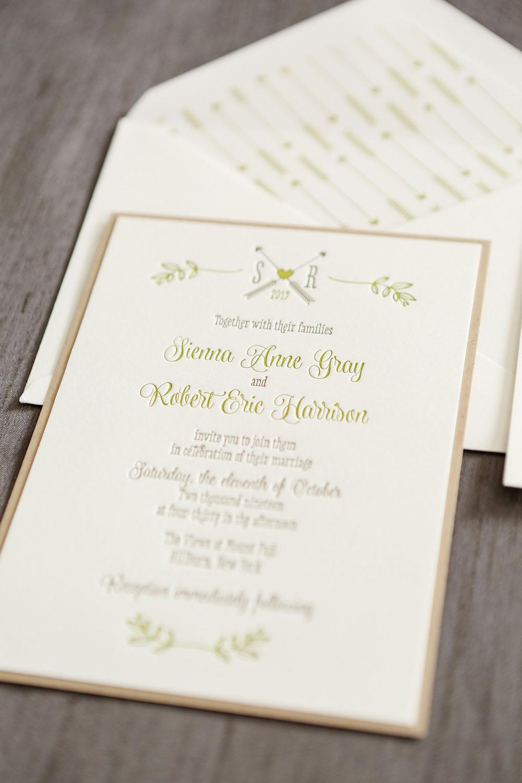 Rustica Wedding Invitation