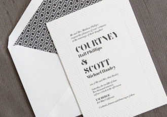 Alinea Wedding Invitation