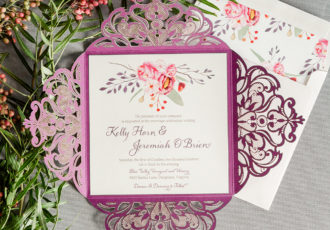 Kelly & Jerry's Wedding Invitation Suite