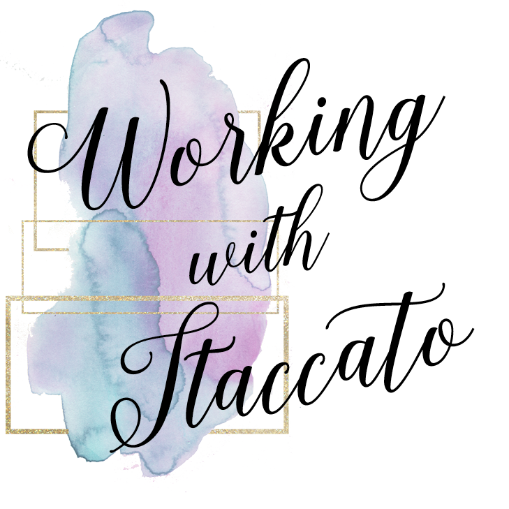 working with staccato