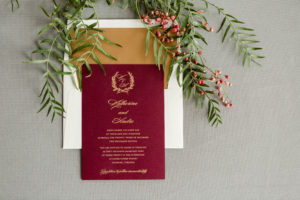 Katherine & Andre's Wedding Invitations