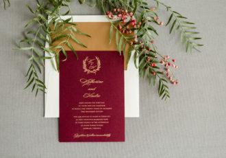 Katherine & Andre's Wedding Invitations