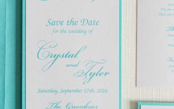 Crystal & Tyler's Save the Dates