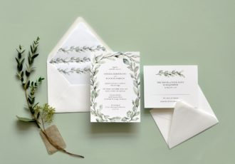 Delicate Willow Wedding Invitation