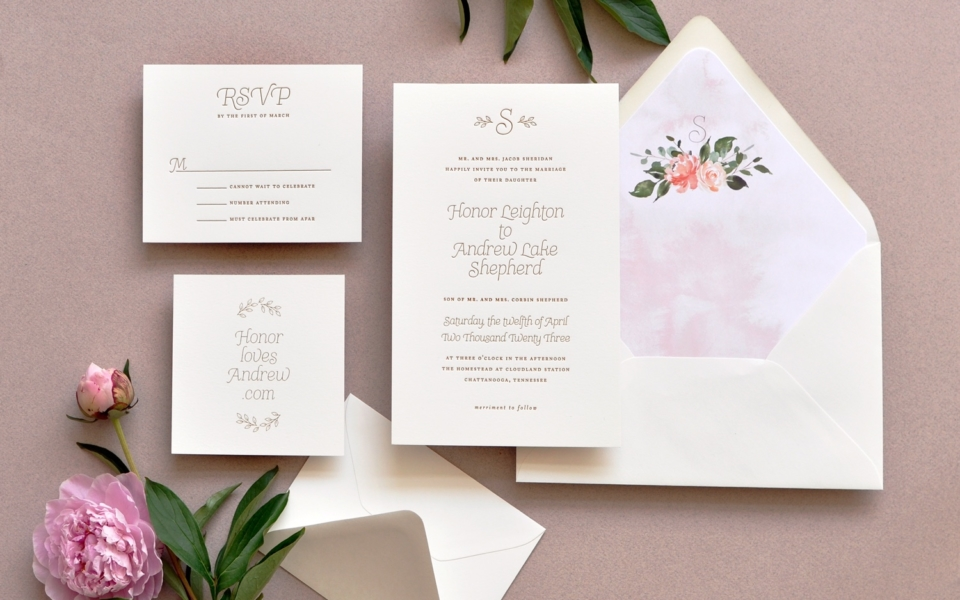 Smitten on Paper Luxe Wedding Collection