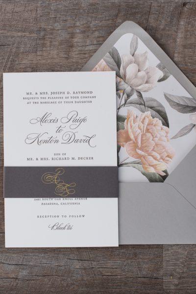 Alexis Wedding Invitation