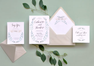 Fairfield Wedding Invitation