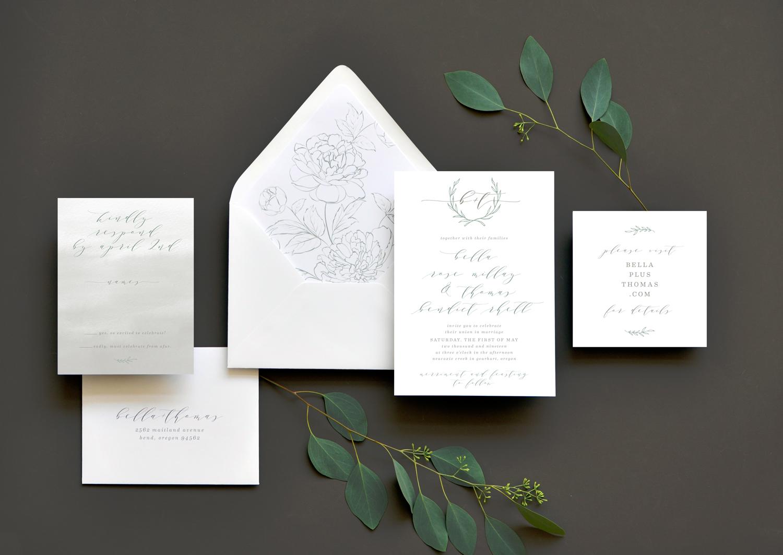 Heirloom Romance Wedding Invitation