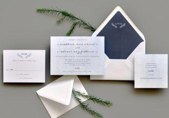 Homewood Wedding Invitation