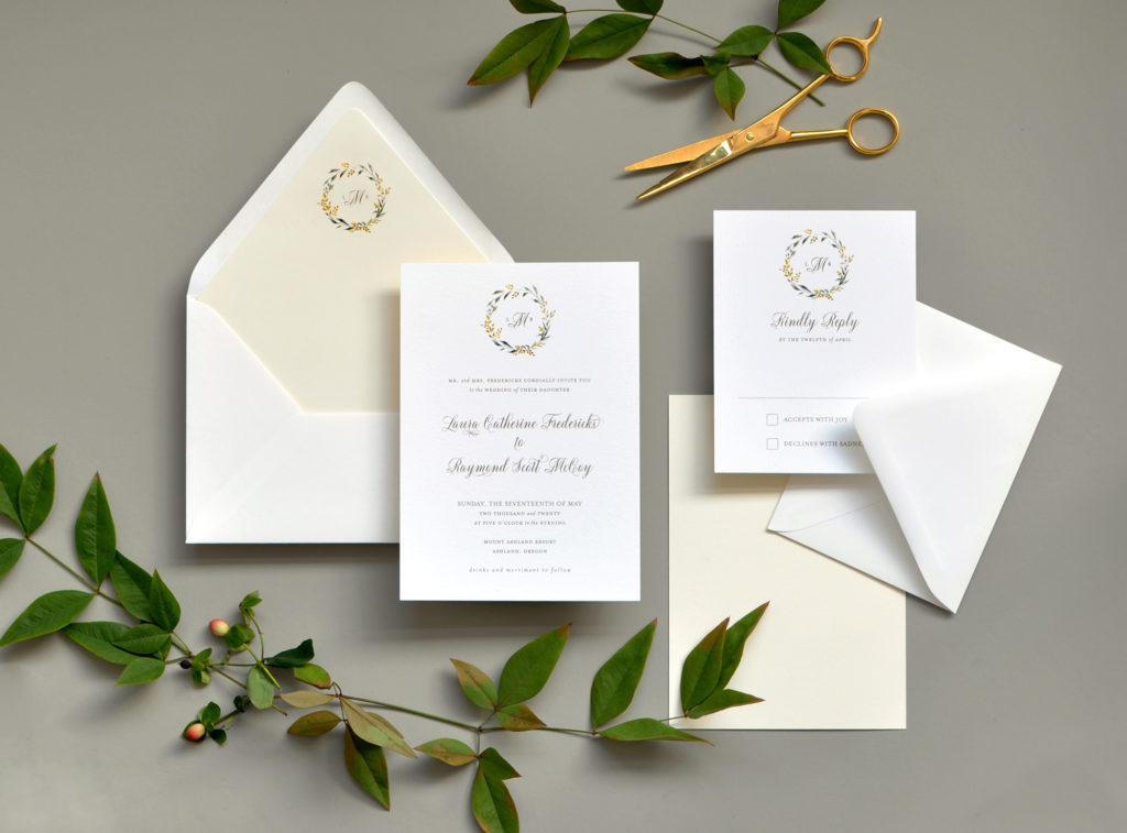 Sweet Summer Wedding Invitation • Staccato