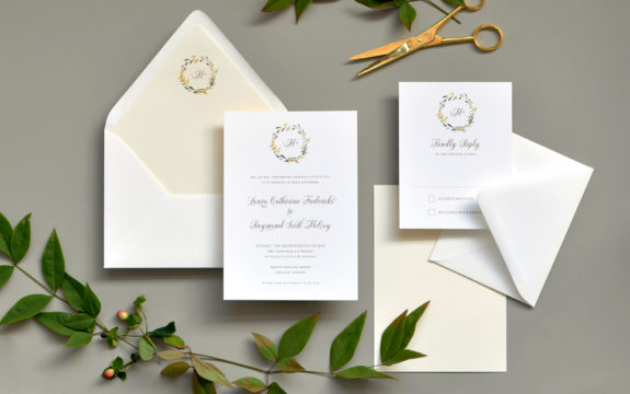 Sweet Summer Wedding Invitation