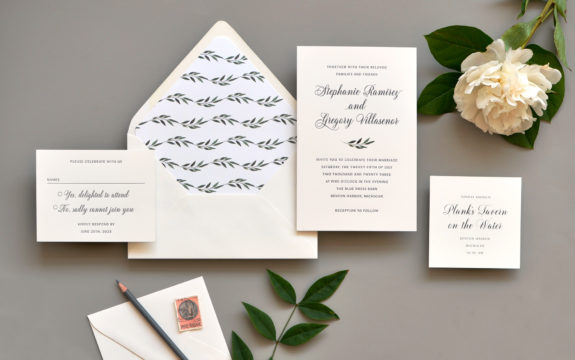 Stephanie Wedding Invitation