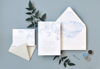 Pippa Wedding Invitation