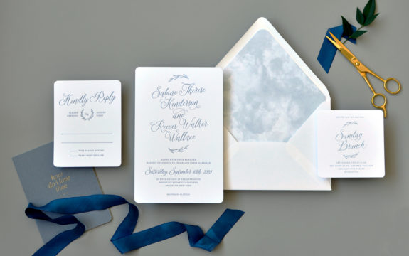 Sabine Wedding Invitation
