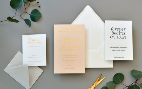 Simone Wedding Invitation