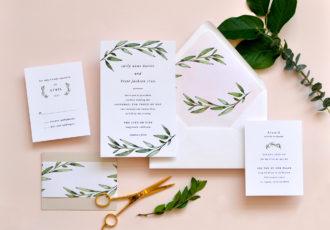 Carly Wedding Invitation